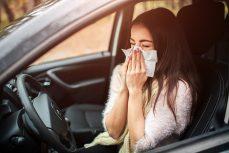 Vermeiden Sie Verkehrsunfälle aufgrund von Allergien