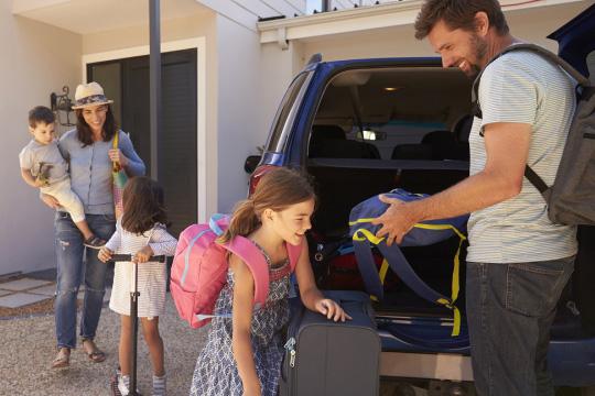 Machen Sie vor der Abfahrt in den Urlaub einen Sicherheits-Check