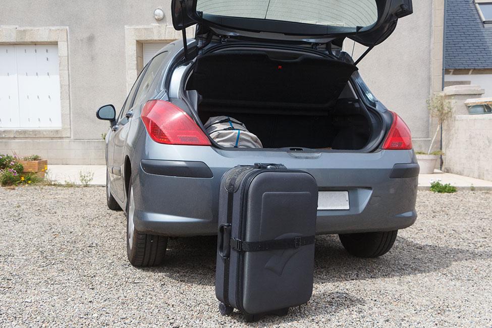 Richtiges Beladen des Fahrzeugs